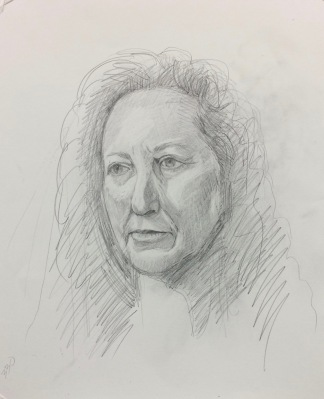#2, graphite on paper, 14x11