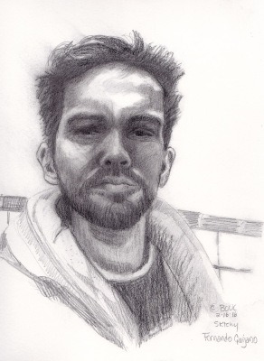 Fernando Quijano, Jr. Graphite, attempt #2