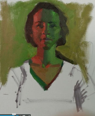 Red Green Complementary Color, Bill Perkin's study