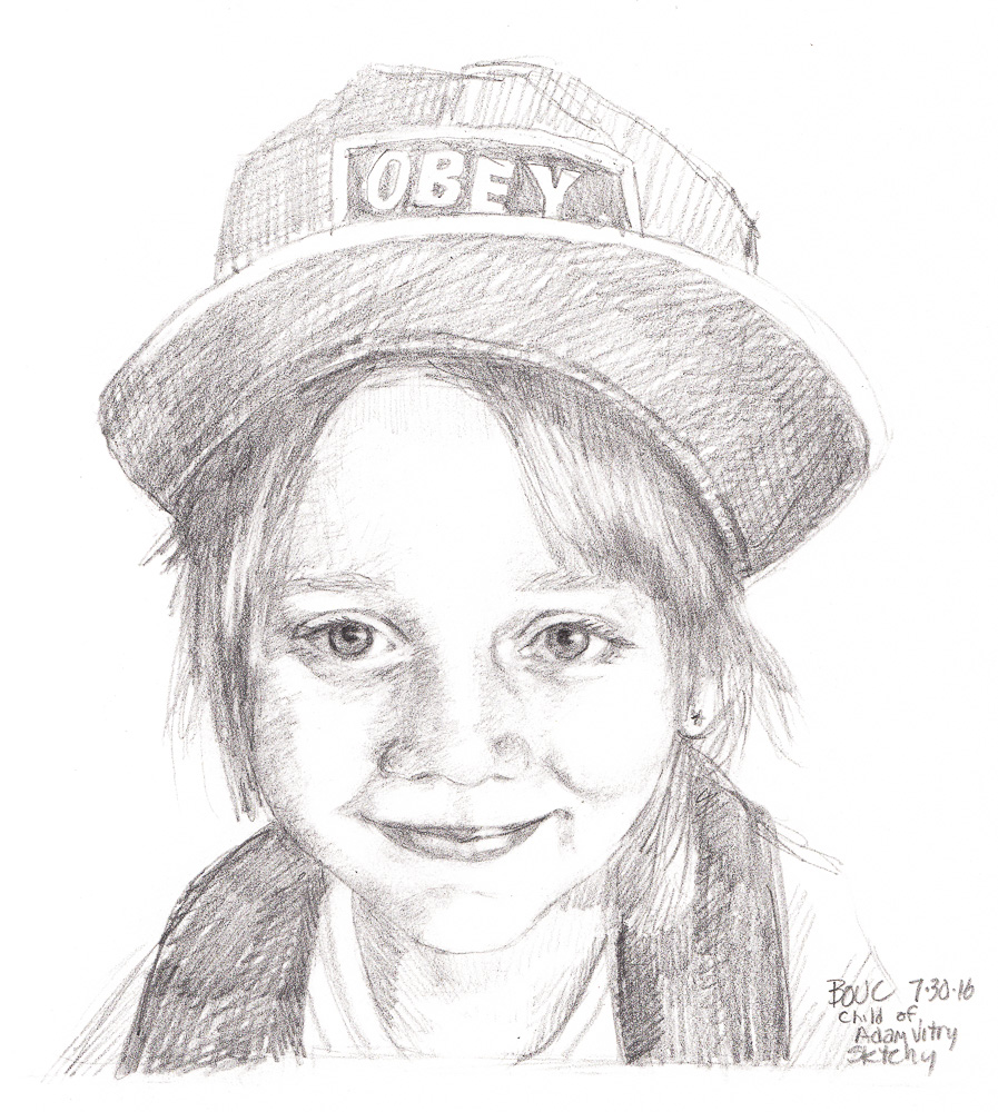 """Sketched in pencil from photo on Sktchy, 10x8"""""""