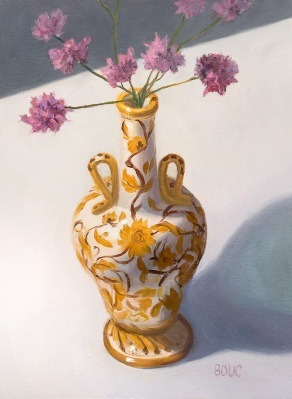 Mom's Perugia Italian Vase, Oil on Arches Oil Paper, 12x9 inches