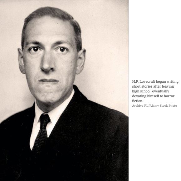 HP Lovecraft Web Photo
