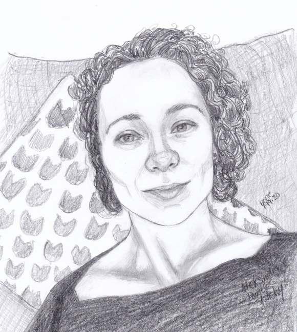 Aleksandra Final Pencil Sketch
