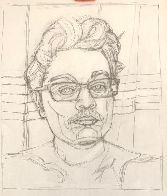 Alexander H Initial Sketch